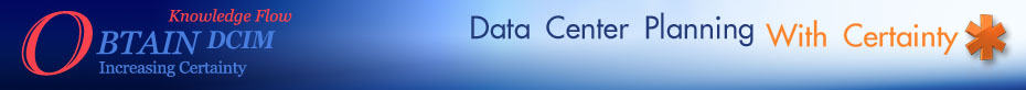 OBTAIN DCIM Data Center Planning with Certainty